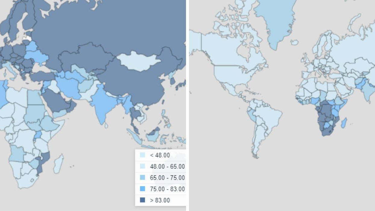 Статистика заболеваний туберкулезом