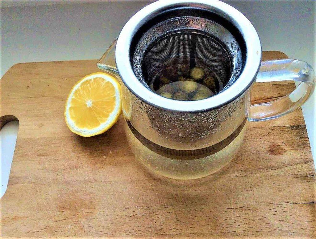 чай из сосновых шишек