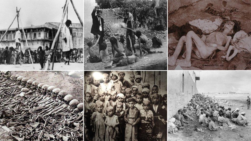 геноцид армян турками в 1915 году