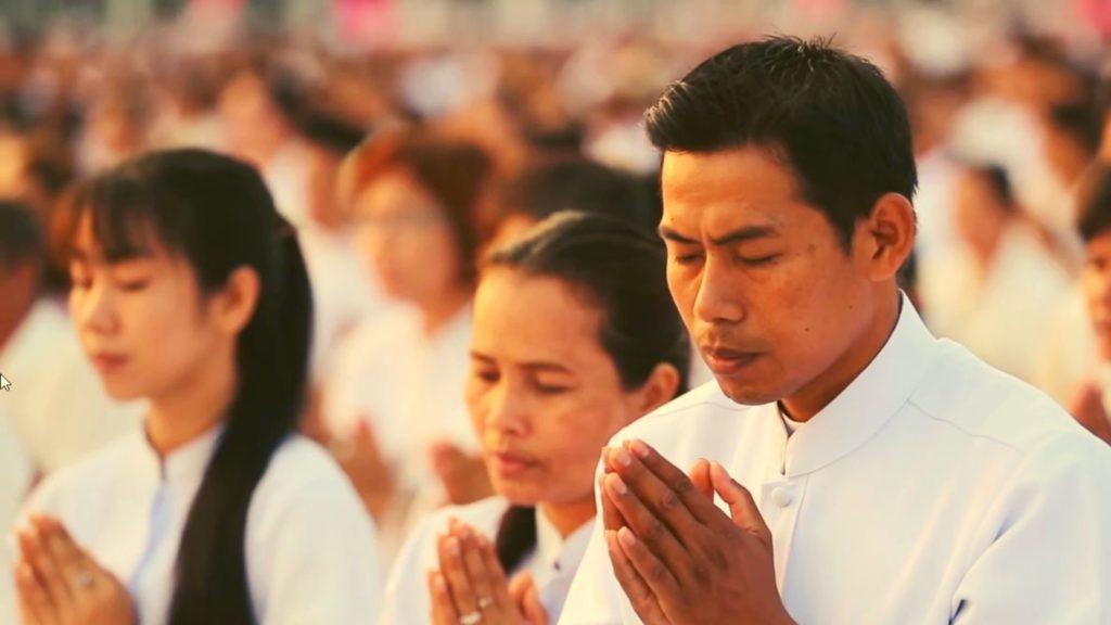 медитация во время випассаны