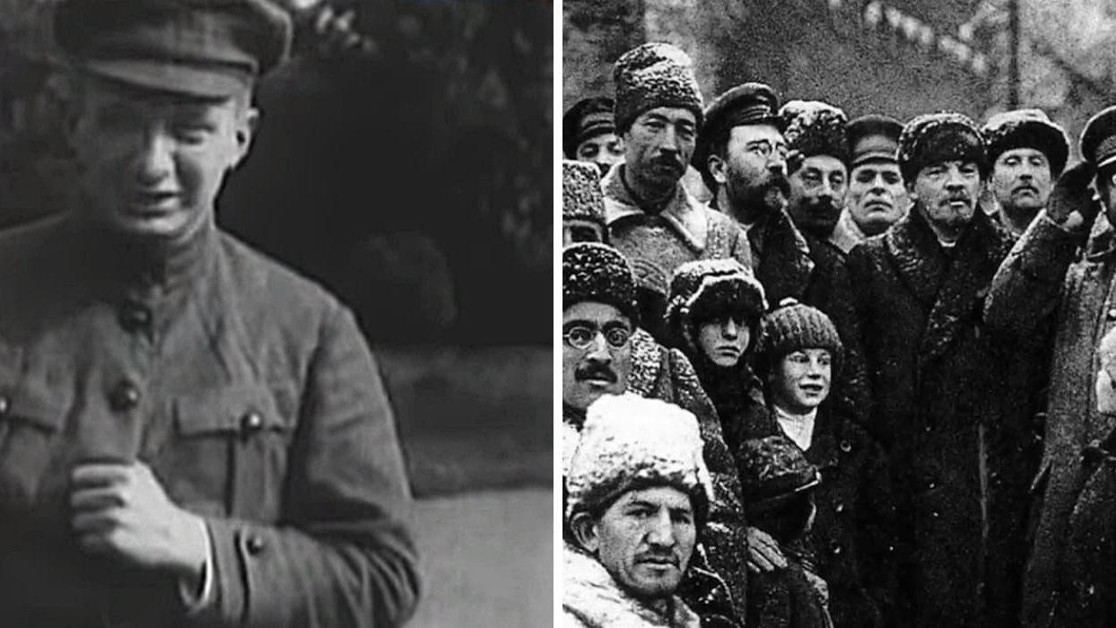 Керенский и большевики